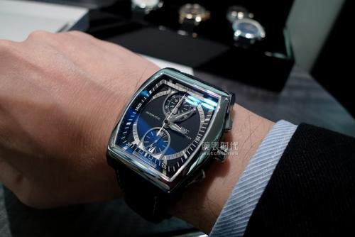 「手表可以回收」万国达文西陀飞轮逆跳计时手表
