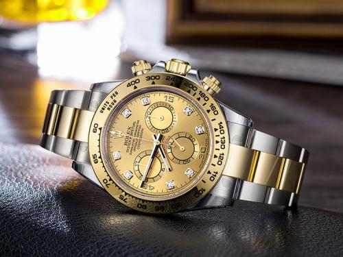 劳力士黑钢迪专柜卖断货了?手表回收公司