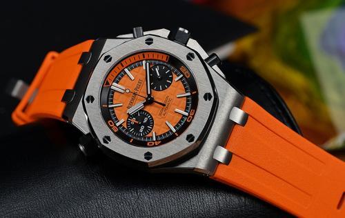 爱彼皇家橡树离岸彩虹圈手表在深圳哪有名表回收公司