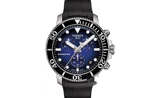 天梭运动系列T1204171704100腕表回收