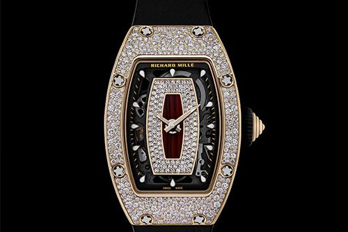 里查德米尔女士系列RM 07-01 红金腕表外观