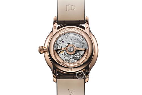 雅克德罗大秒针系列J007023203腕表效果图