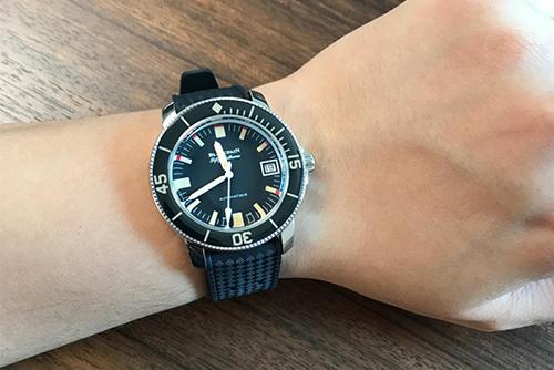宝珀五十噚系列5008B-1130-B52A腕表效果图