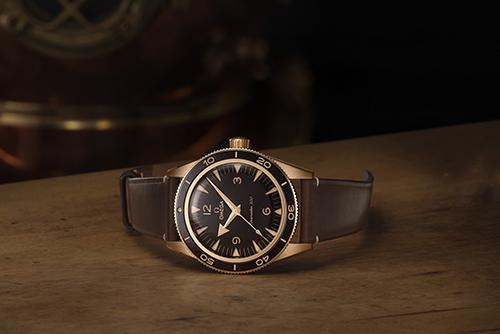 欧米茄海马系列234.92.41.21.10.001(青铜金款)手表价格?