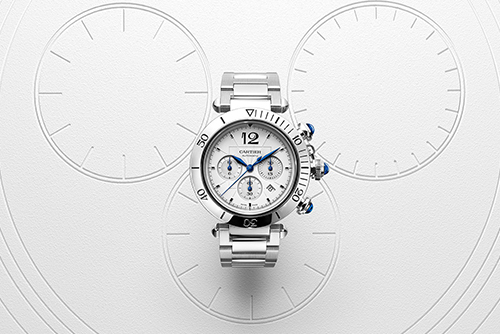 卡地亚帕莎系列Pasha de Cartier系列计时码表腕表