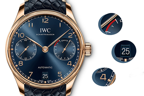 IWC万国表葡萄牙系列IW500713腕表回收
