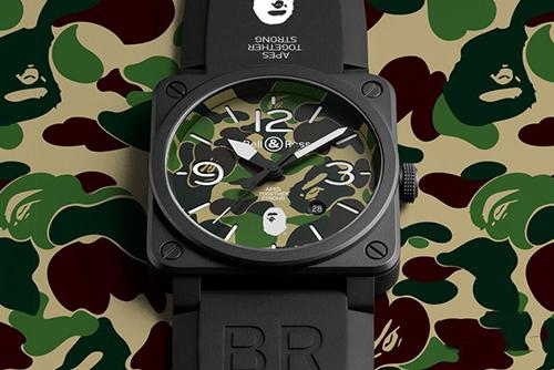 柏莱士INSTRUMENTS系列BR0392-BAPE-GN-CE腕表回收