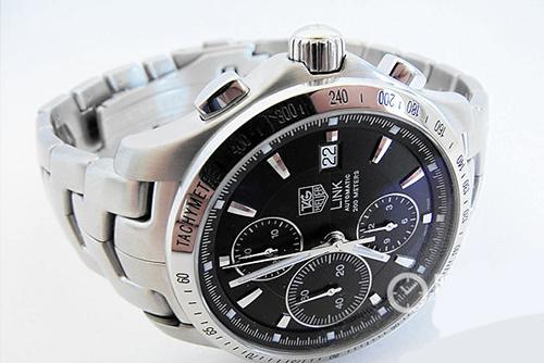 泰格豪雅林肯系列CJF2110.BA0594腕表回收