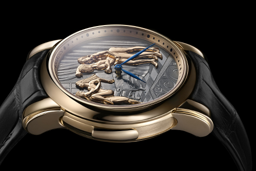 雅典表鎏金系列736-61/VOYEUR腕表回收