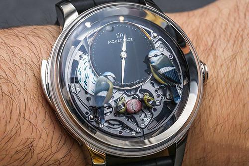 雅克德罗艺术工坊系列J031034203腕表回收