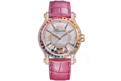 萧邦HAPPY DIAMONDS系列274891-5007腕表回收