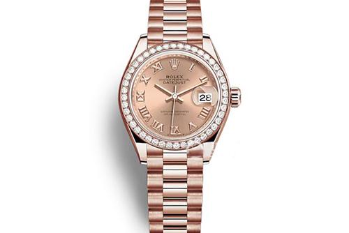 劳力士女装日志型系列m279135rbr-0027腕表回收