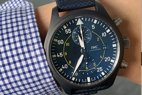 IWC万国表飞行员系列IW389008腕表回收