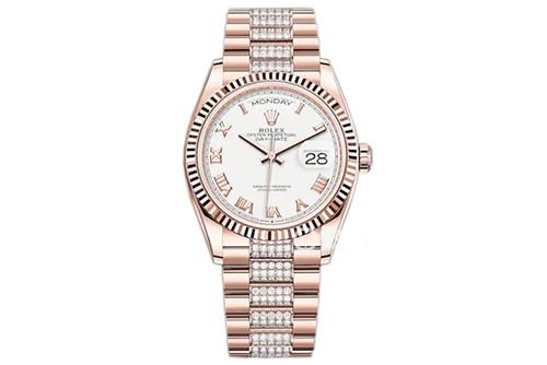 劳力士星期日历型系列m128235-0053腕表回收
