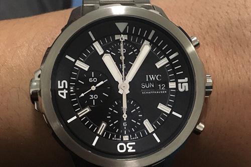 IWC万国表海洋时计系列IW376804腕表回收