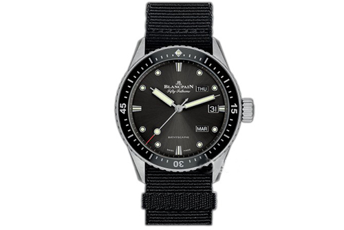 宝珀五十噚系列5071-1110-NABA腕表回收