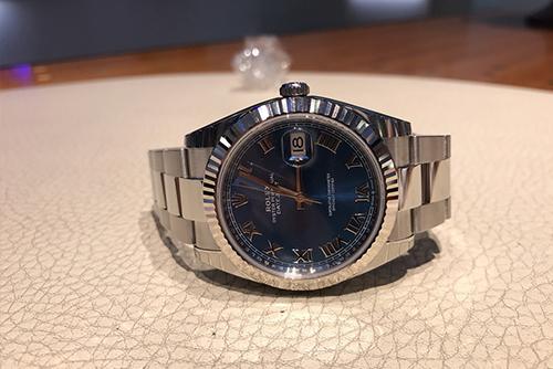 劳力士日志型系列m126334-0025腕表回收